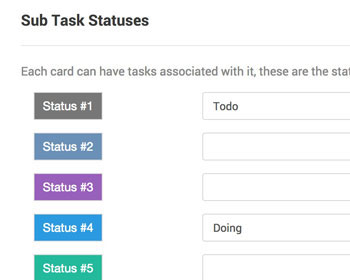 Sub Tasks